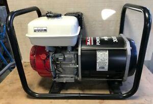 Baldor 3000W Portable Gas Industrial Generator / Honda engine