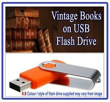 220 Rare Vintage Microscope Books on USB  Histology Microscopy Slides Science F5