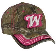 Ladies Winchester® Frayed Cap - Fuchsia Winchester Logo