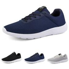 Mens Leisure Sneakers Shoes Mesh Breathable Trainer Outdoor Running Sports New B