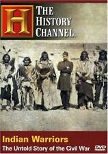 INDIAN WARRIORS: THE UNTOLD STORY OF THE CIVIL WAR (HISTORY CHANNEL) NEW/SEALED
