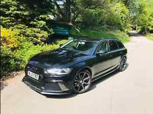 Audi RS6 Style Front Bumper