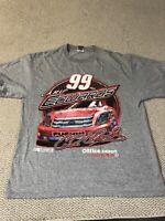 Carl Edwards Nascar Double Sided Graphic T-Shirt Size Large