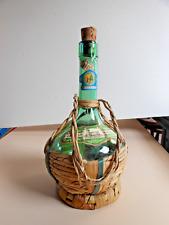 VECCHIO FIASCHETTO DI VINO ORVIETO - OLD ITALIAN WINE FLASK -  ALTE WEINFLASCHE