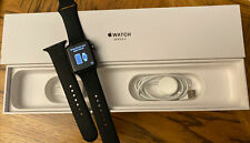 Apple Watch Series 3 42mm Space Gray Aluminum Black Sport A1861 (GPS + Cellular)