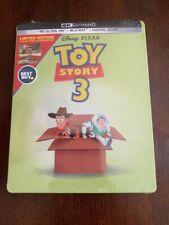 Disney Toy Story 3 4k Ultra HD Blu-ray Steelbook