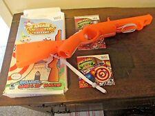 Nintendo Wii Arcade Shooting Gallery Game & 20'' Blaster Gun Controller