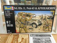 Revell Sd. Kfz.11 Pak 40 & Afrikakorps on 1:72 in Box