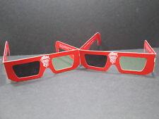 TWO (2) RARE VINTAGE ORIGINAL Enjoy Coca~Cola 3D GLASSES CARDBOARD NEVER WORN