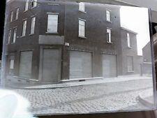 Maison rue Baudouin IV - Braine-le-Comte - Ancien Négatif plaque de verre