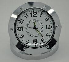 Uhr Hidden Kamera Cam DVR Sicherheit REC Surveillance Camcorder Stahl SPY Tisch