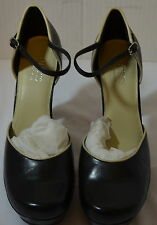 Women's Black Guess by Marciano Shoes size 8 1/2M   heel 4 3/4""