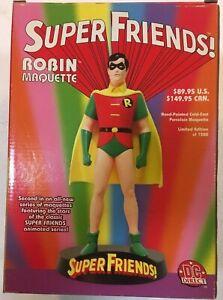ROBIN Maquette Super Friends TV Show DC Direct Ltd Statue Figurine MIB 1020/1500