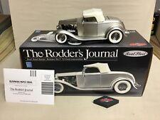 RODDERS JOURNAL REAL STEEL #3 1932 FORD EDELBROCK ROADSTER 1:18  RARE GMP NIB