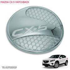 For Mazda Cx5 Cx-5 Hatchback 13 2014 2015 2016 Chrome Oil Fuel Cap Tank Cover