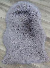 Kunstfell Schaffell Teppich Imitat 55x80 cm Bettvorleger,Lammfell Teppich *NEU*