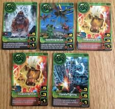 5x Animal Kaiser Strong Cards Evo 2