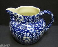 Heron Cross Pottery Victorian Calico English Chintz 1/2 Pint Dutch Jug