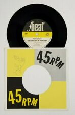 ELVIS COSTELLO & THE ATTRACTIONS High Fidelity 45 FBeat XX3 UK '80 VG+ SIGNED B6