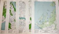 Vintage Alaska Map Topographic Editions 1955-1987