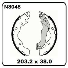 Hyundai Accent LC LS 1.6L 2003 onwards REAR Drum Brake Shoe SET N3048