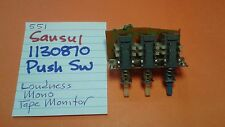 SANSUI 1130880 PUSH SWITCHES LOUDNESS MONO TAPE MONITOR 551  RECEIVER
