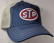 Hat Cap Licensed STP Tan Mesh Blue CF