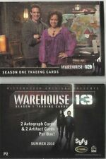 WAREHOUSE 13 SEASON 1 Promo Card P2 BY RITTENHOUSE  SEASON ONE