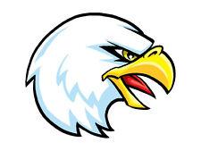 25 - Eagle Head Temporary Tattoos, School Spirit Mascot Face tattoo