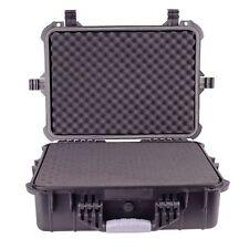 "20"" Weatherproof Hard Case For DSLR Camera & Lenses w/ Pelican Pluck Foam"