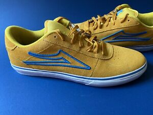 Lakai Carroll Select Low Mens Size 12 Yellow Shoes NEW!