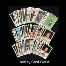 (HCW) 1979 Panini Stickers Hockey Lot of 55 - All Different - Vintage 02482