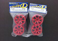 DL101 1/10 Japan D-Like RC Car Wheel 4pcs offset +2 Drift Tamiya Yokomo Kyosho