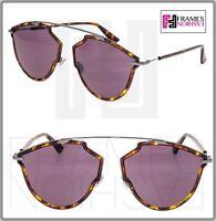 9e3310d20 CHRISTIAN DIOR SO REAL Rise Ruthenium Violet Aviator Sunglasses SOREALRISE