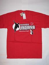 Indianapolis Indians Minor League Baseball Shirt Red Men's Size Medium NEW! MiLB