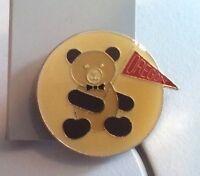 OREGON Teddy Bear sports fan pin badge
