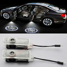 2x Car Door Courtesy LED Laser Projector Ghost Shadow Welcome Light for BMW Logo