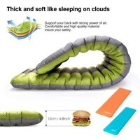 Outdoor Camping Inflatable Mattress Air Mat Pad Thick Hiking Sleeping Bed Tent ~