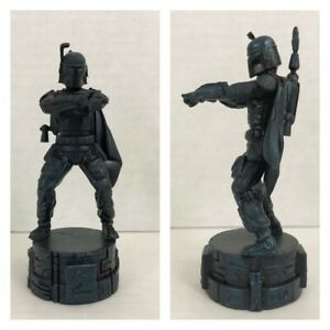 Star Wars Saga Edition Chess Boba Fett Knight Replacement Part Cake Topper
