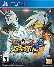 Naruto Shippuden Ultimate Ninja Storm 4 RE-SEALED Sony PlayStation 4 PS PS4 GAME