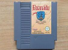 FAXANADU. Spanish Version Espanola. Nintendo NES (Sega,Atari) VGC/TBE !