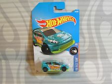 2017 HOT WHEELS ''HW RACE TEAM'' #307 = `12 FORD FIESTA = TEAL  ,  int