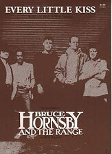 Bruce Hornsby And The Range Every Little Kiss  US Sheet Music