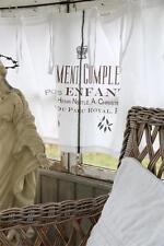 Gardinen & Vorhänge mit Schlaufenaufhängung im Shabby-Stil aus 100% Baumwolle