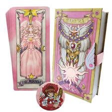 Cardcaptor Sakura Pink Card Book SET The Nothing Miracle Hope Cosplay Free Ship