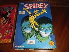 SPIDEY n° 83 très bon état, comme neuf. Le journal de SPIDER MAN de 1986