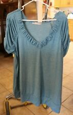 Maurice Teal Top size 2