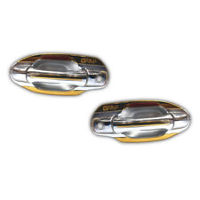 Chrome Handle Bowl Cover 2Doors Gold Series For Isuzu Dmax 07 08 09 10 11