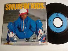"SMURFIN' KIDS 7"" 45T 1983 French promo K-WAY Sportswear / JAVA PRODUCTION 1111"