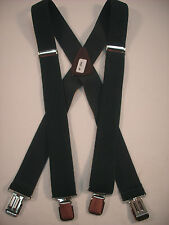 "New, Men's, Hunter Green, XL, 1.5"", Adj. Suspenders / Braces, Made in the USA"